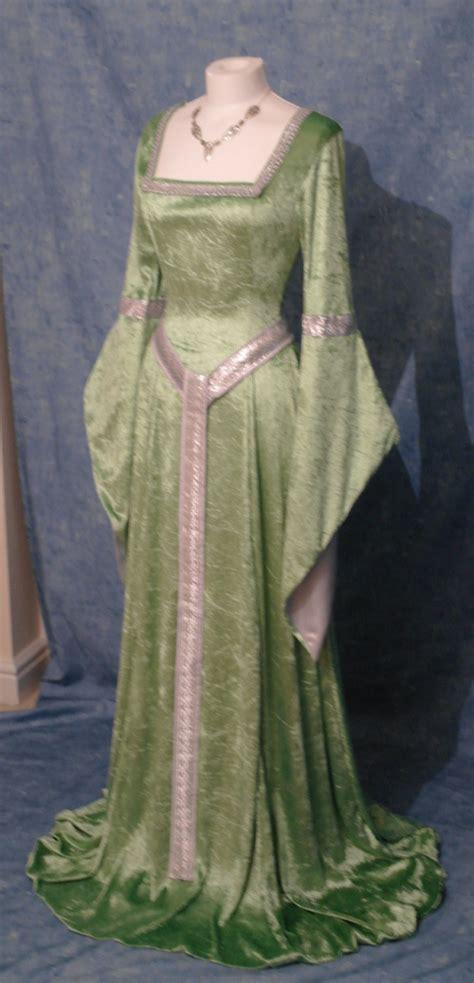 elven dress dress renaissance dress by