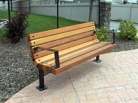 outdoor park bench bloombety outdoor wood park benches with iron fence the
