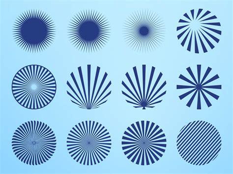 svg radial pattern radial starburst patterns vector art graphics