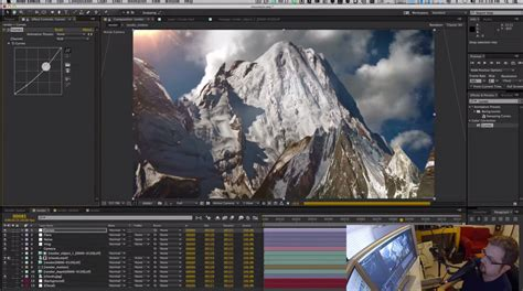 mapping cinema 4d projection mapping mountains in c4d