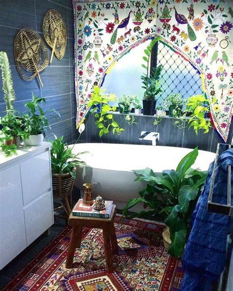 best 25 bohemian bathroom ideas on