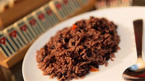 black beans  rice congri recipe sbs food