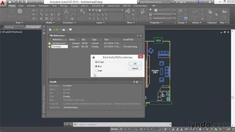 autocad 2007 xref tutorial removing xrefs