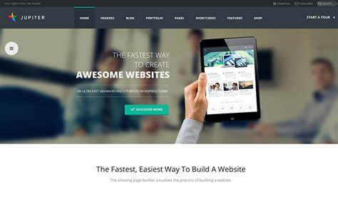 themeforest jupiter theme wordpress jupiter