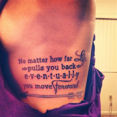rib quote tattoos 25 attractive rib designs arrow tattoos hunger