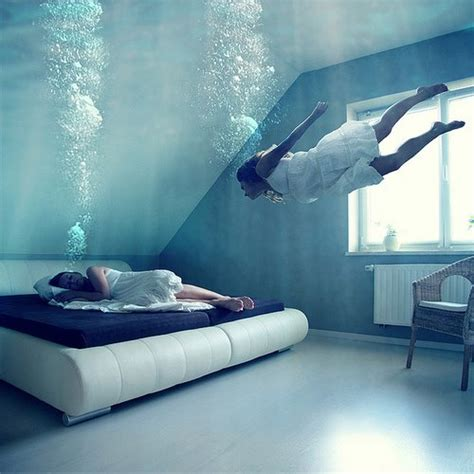 dream bed dream bed blue bubbles image 652100 on favim com