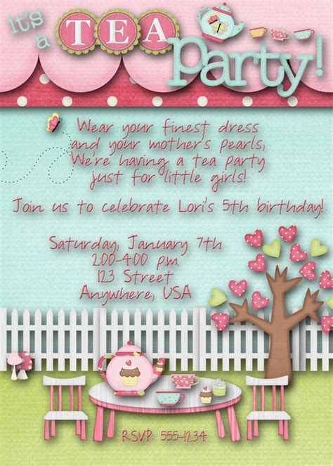 invitation for baby shower popular baby shower tea party
