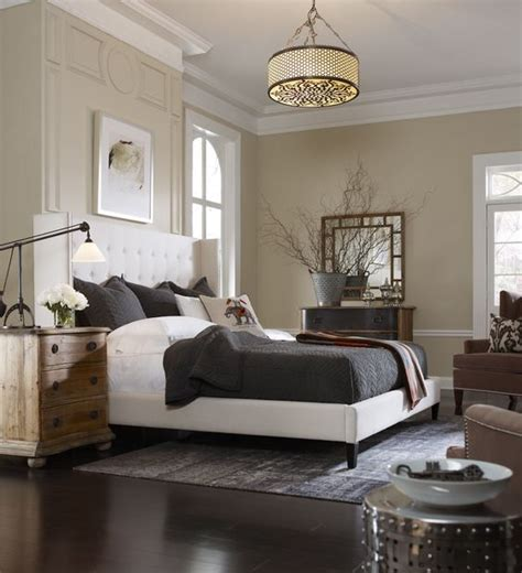 jefferson upholstered bed neutral bedrooms