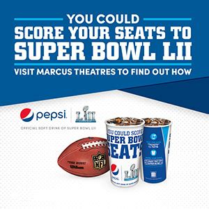 Super Bowl Lii Sweepstakes - special offers programs value pricing special events