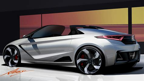 new honda sports car new honda s660 sports kei car concept revealed video