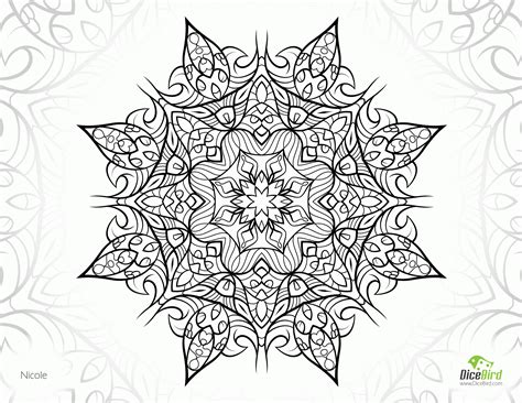 complicated coloring pages mandala coloring pages complicated az coloring pages