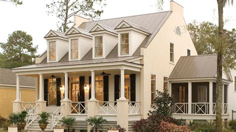 house beautiful cottage living magazine 17 house plans with porches southern living