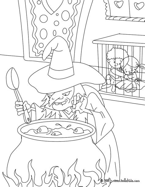Hansel And Gretel Tale Coloring Pages Hellokids Com Hansel And Gretel Coloring Page