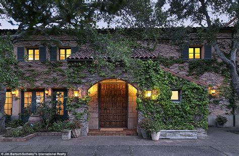 Jeff Bridges Home | jeff bridges lists his montecito villa for 29 5million