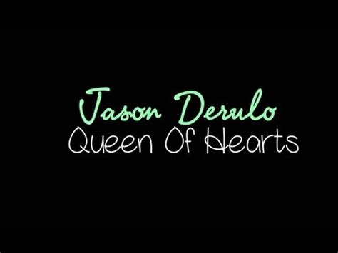 theme song queen of hearts jason derulo queen of hearts lyrics letssingit lyrics