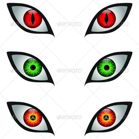 printable witch eyes scary eyes graphicriver