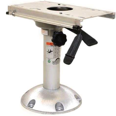 how to measure boat seat pedestal springfield boat seat pedestal 1250353 l 13 inch swivel