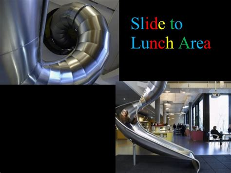 google z rich office slide to the canteen youtube google office in zurich