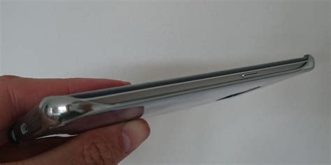 Terlaris Samsung Galaxy S6 Edge Clear View Cover Cover Silver Origi cover til galaxy s6 edge test og pris og billeder