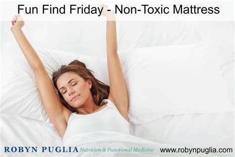Non Toxic Futon by Find Friday Non Toxic Mattress