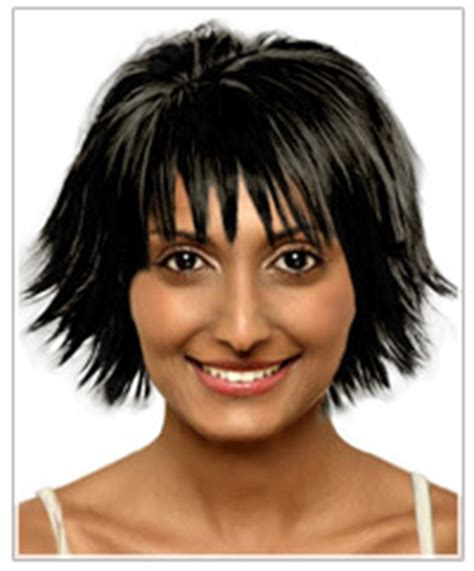what face shape bad for ling hair the right hairstyle for your round face shape