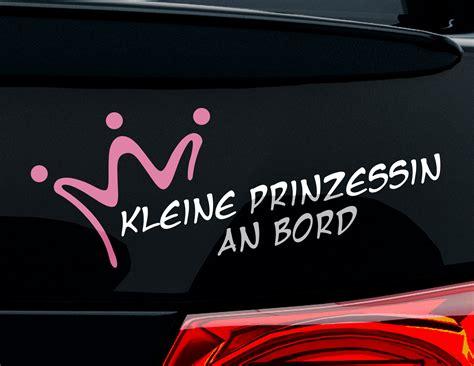 Autoaufkleber Prinzessin by Autoaufkleber Kleine Prinzessin