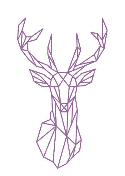 drer basic art series best 25 geometric deer ideas on geometric tattoo deer geometric animal and wall