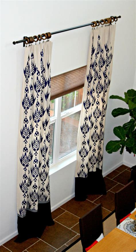 stenciled drop cloth curtains 17 best images about curtains on pinterest auction