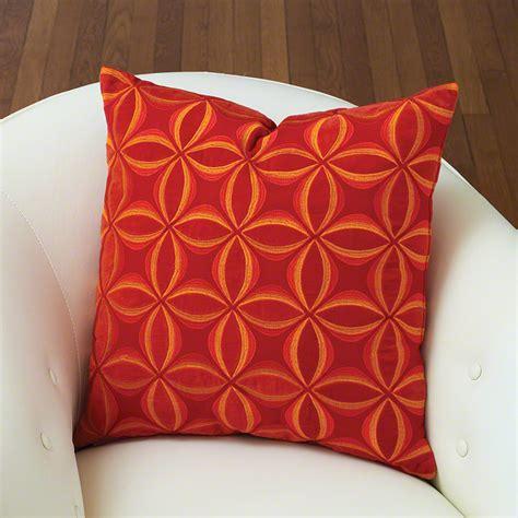 global pillows global views petals pillow orange