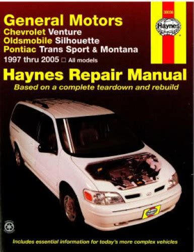 old car owners manuals 1997 pontiac trans sport auto manual haynes gm chevrolet venture oldsmobile silhouette pontiac