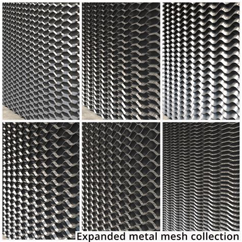 Expanded Metal 3d Model expanded metal mesh 3d model turbosquid 1238067