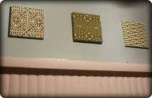 fabric wall diy my retro kitchen