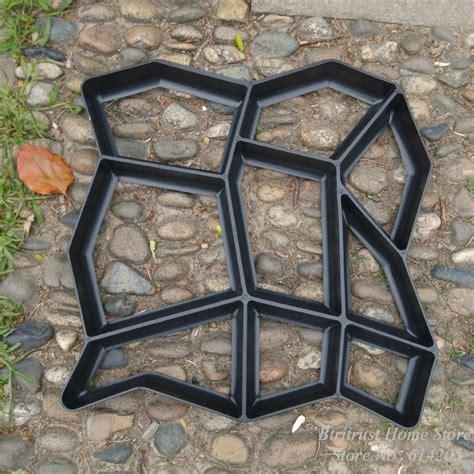 Diy Pathmate Concrete Stepping Stone Mold In Garden Patio Molds