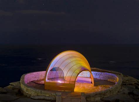 designboom sculpture by the sea nicole larkin sites experiential sculpture near sydney beach