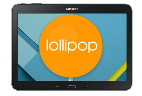 Tablet Samsung Lollipop Samsung Galaxy Tab 4 10 1 Gets Android 5 0 Lollipop