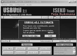 Converter Hardisk Ps2 usbutil software untuk nginstal ke ps2