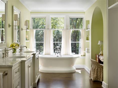 Bad Gardinen by 20 Ideas For Bathroom Window Curtains Housely