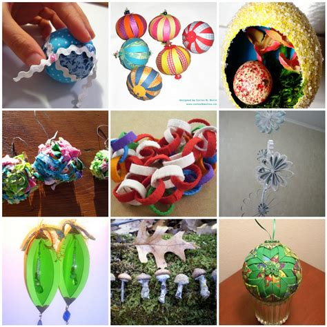 101 Handmade Ornament Ideas - handmade ornament tutorials dabbled