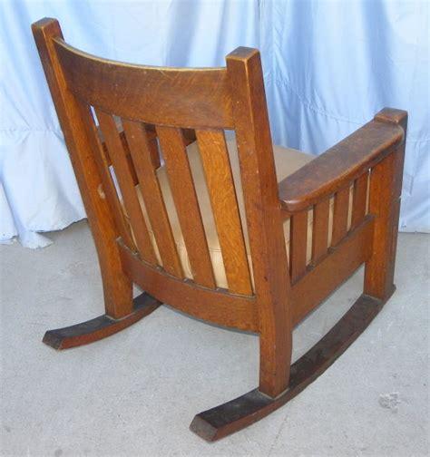 Antique Oak Rocking Chair by Bargain S Antiques 187 Archive Antique Mission Oak