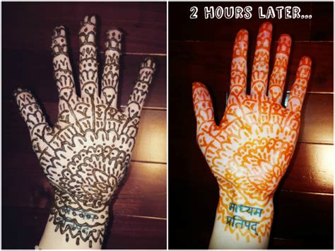 henna tattoo before and after skincare raddy health