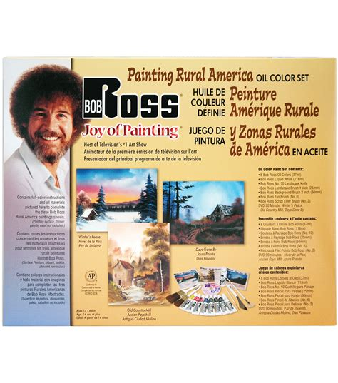 bob ross ultimate painting kit weber bob ross painting rural america jo