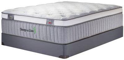 sleep to live series 400 blue blue xl mattress set