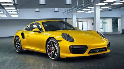 porsche yellow porsche 911 turbo yellow saffron metallic paint photo
