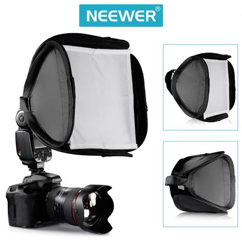 best portable softbox 9 quot 23cm portable professional softbox kit for flash