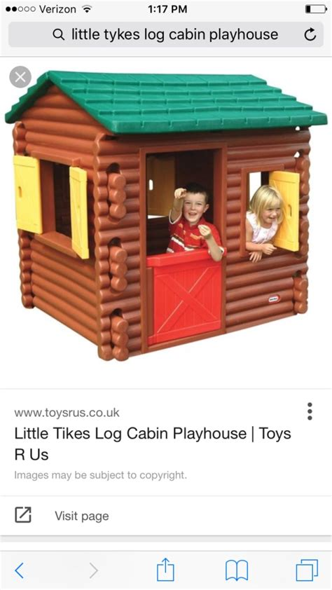 tikes playhouse with brown roof letgo brown and green tikes log in marietta ga