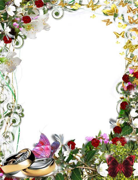 Wedding Wishes Photo Frame by Heavenly Wishes Photoshop Tutorials And Add Ons