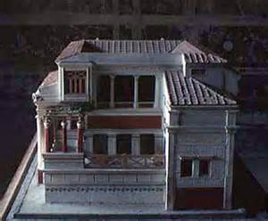 House Of The Tragic Poet Floor Plan Roman House Sources
