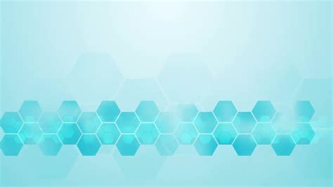 light blue hexagon corporate background motion graphics