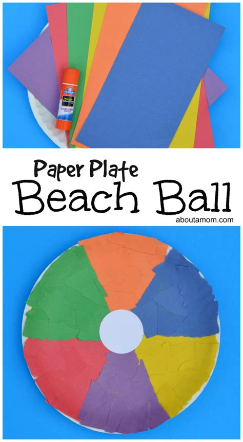 Craft Work With Paper Plate - paper plate craft about a