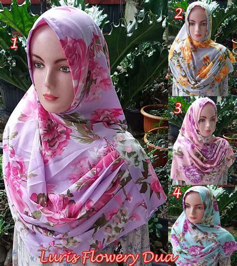 Jilbab Bayi Jilbab Anak Syiria Bunga Dua Kerudung Bayi Imut luris flowery dua sentral grosir jilbab kerudung